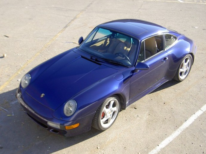 1996 Porsche Carrera 4S Coupe