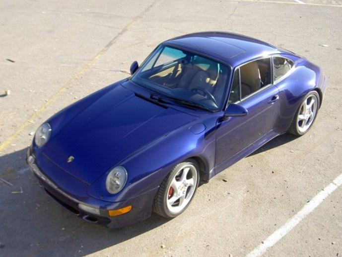 1996 Porsche Carrera 4S Coupe
