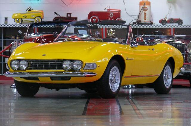 Fully Restored Early Fiat Dino Spider « The Motoring Enthusiast