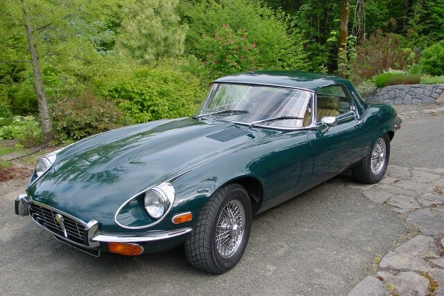 1974 Jaguar E-Type XKE V12 Roadster For Sale