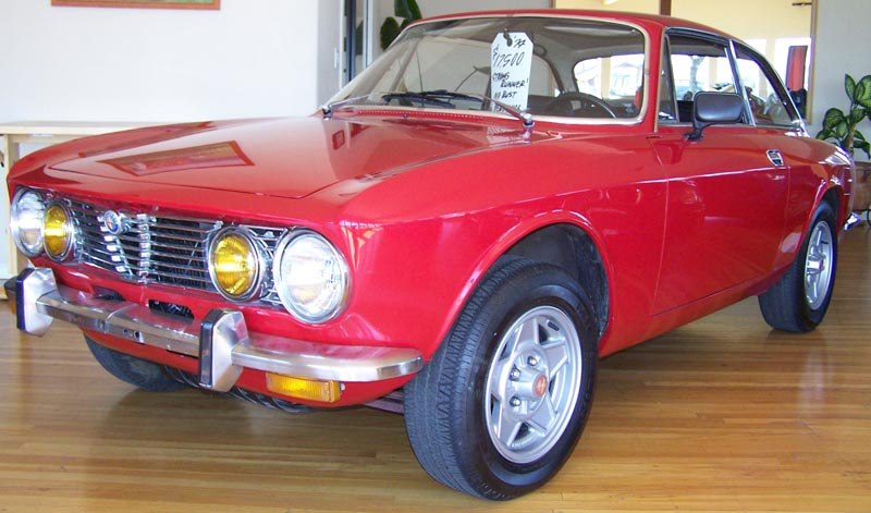 This 1974 Alfa Romeo GTV is available from Good Stuff Auto in Santa Rosa,