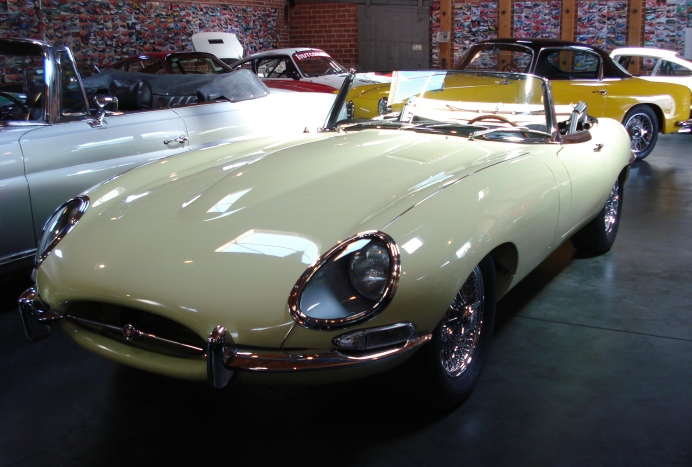 1963 Jaguar E-Type 3.8 XKE roadster for sale