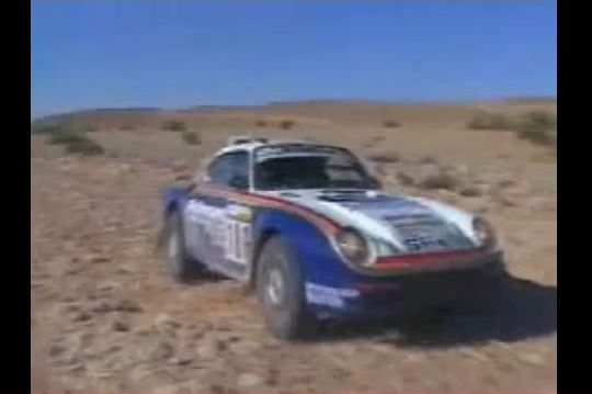 Porsche 959 Paris Dakar Rally