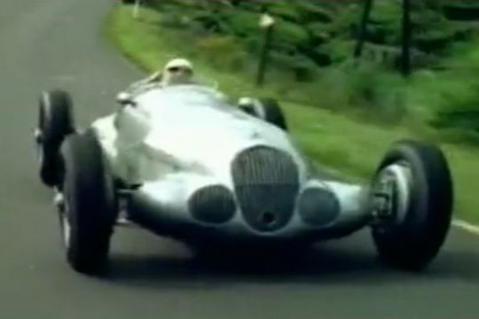1937 Mercedes Benz W125 Grand Prix Car