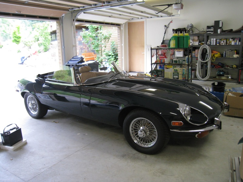 1974 Jaguar E-Type XKE V12 OTS Roadster