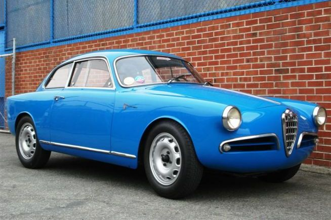 1957 Alfa Romeo Sprint Veloce Lighweight for sale