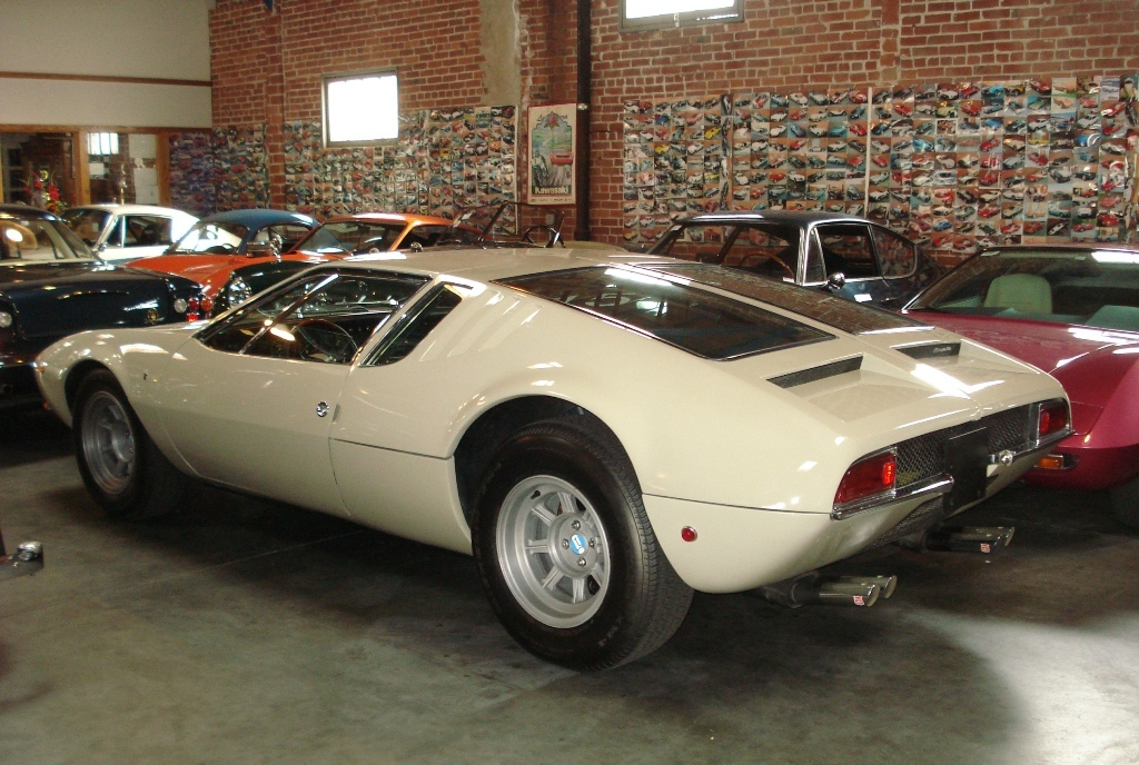 1970 de Tomaso Mangusta for sale