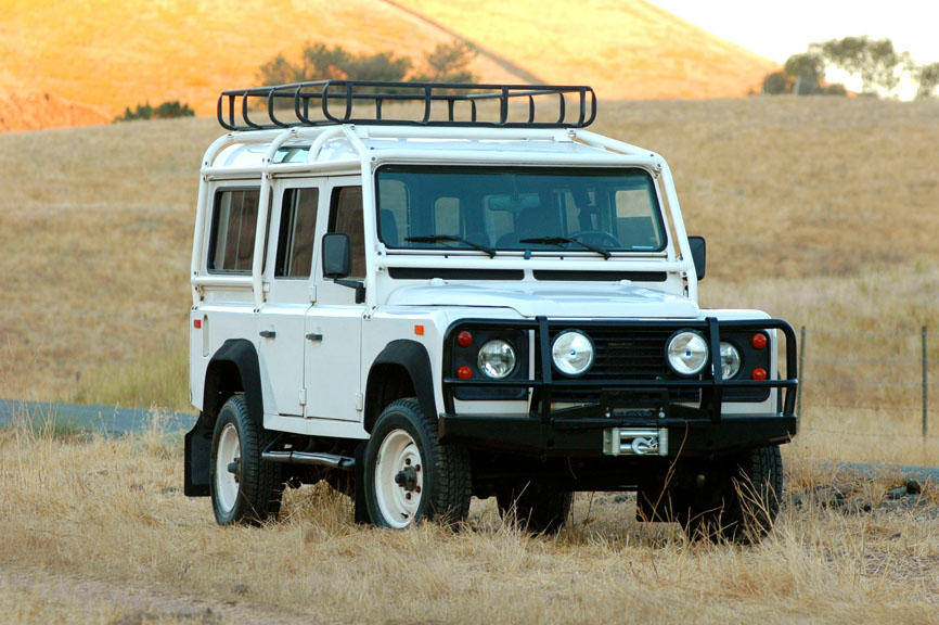 1993 Land Rover Defender 110 NAS #401 « The Motoring Enthusiast