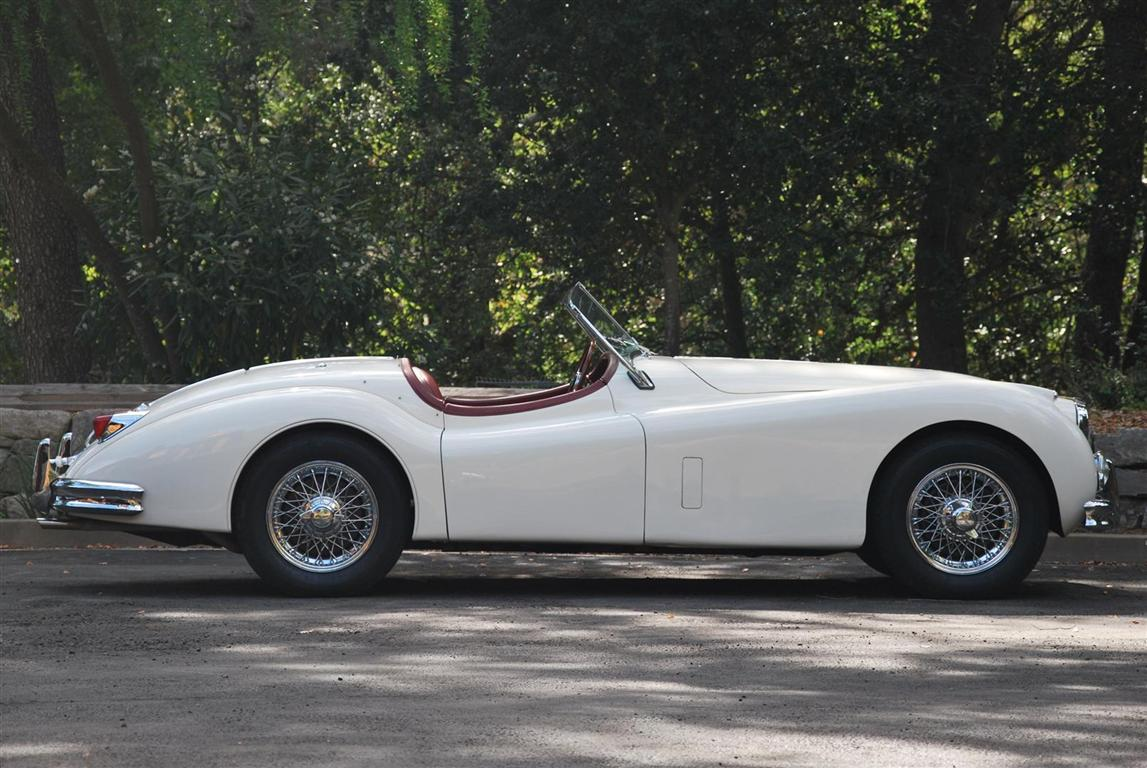 1956 jaguar xk140 se mc ots roadster for sale the motoring enthusiast
