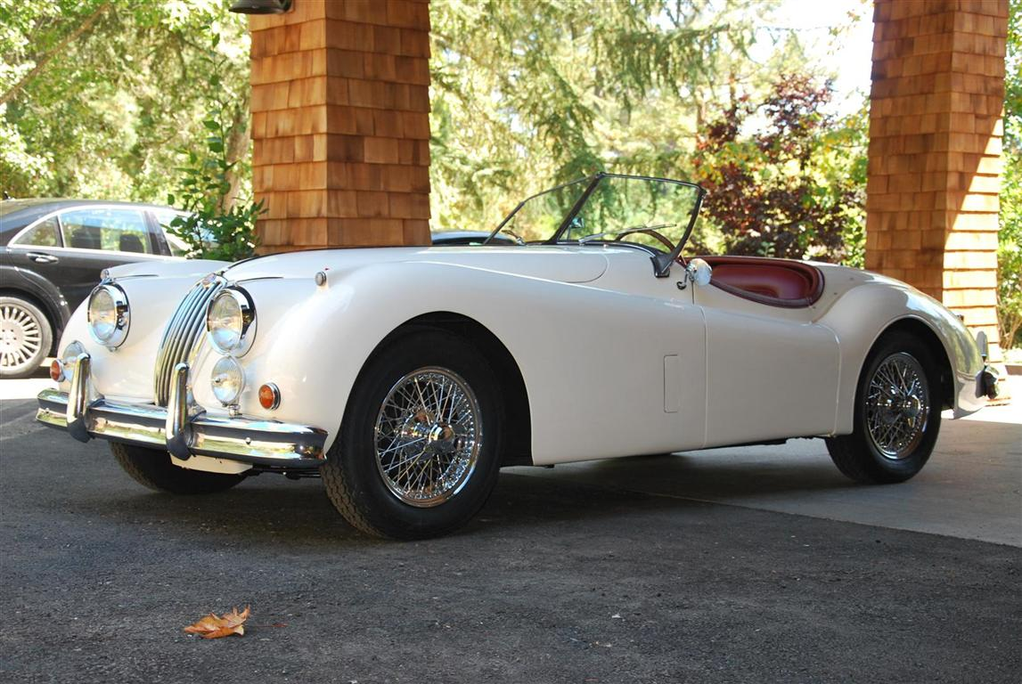 1957 Jaguar XK140SE Roadster OTS For Sale