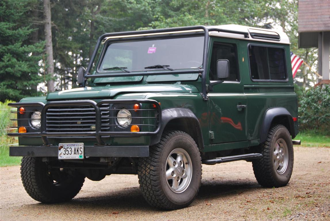 1995 land rover defender 90 station wagon for sale « the motoring