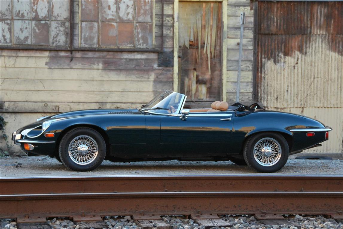 1974 Jaguar E-Type XKE Series III V12 OTS Roadster for sale