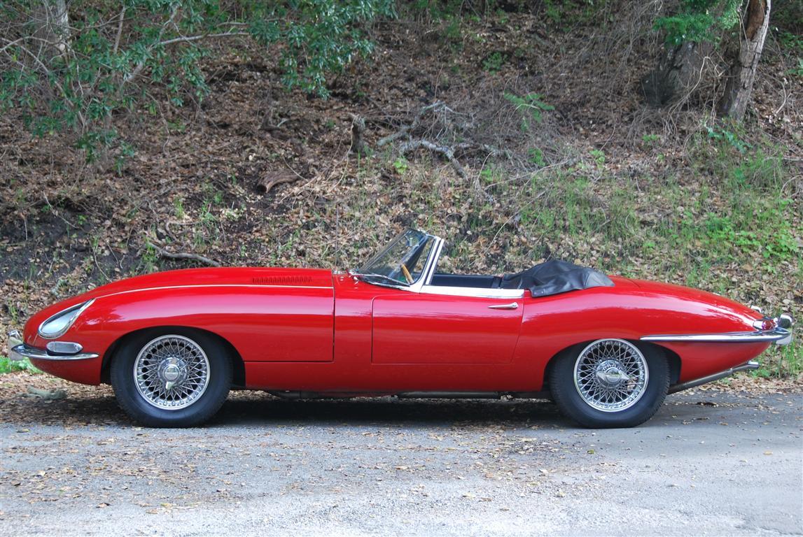 1963 Jaguar Series I E-Type Roadster XKE OTS
