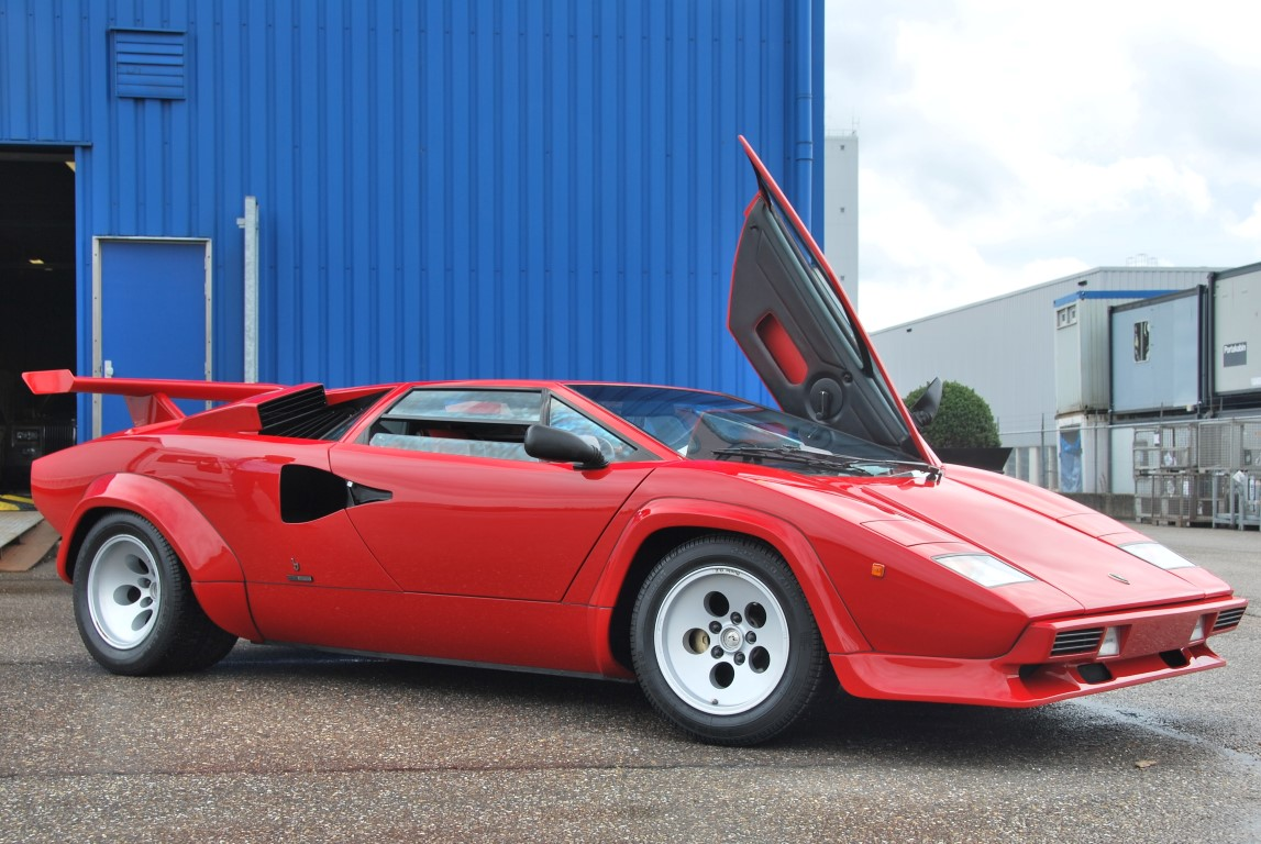 1986 Lamborghini Countach 5000 Quattrovalvole Downdraft For Sale 171 The Motoring Enthusiast