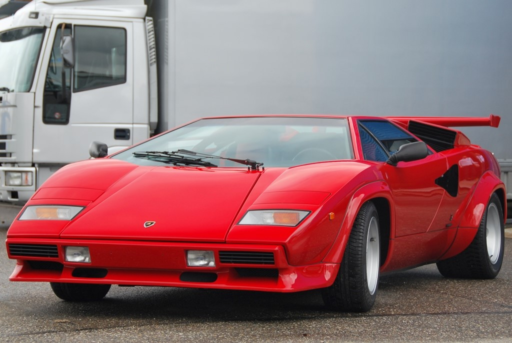 1986 Lamborghini Countach 5000 Quattrovalvole Downdraft For