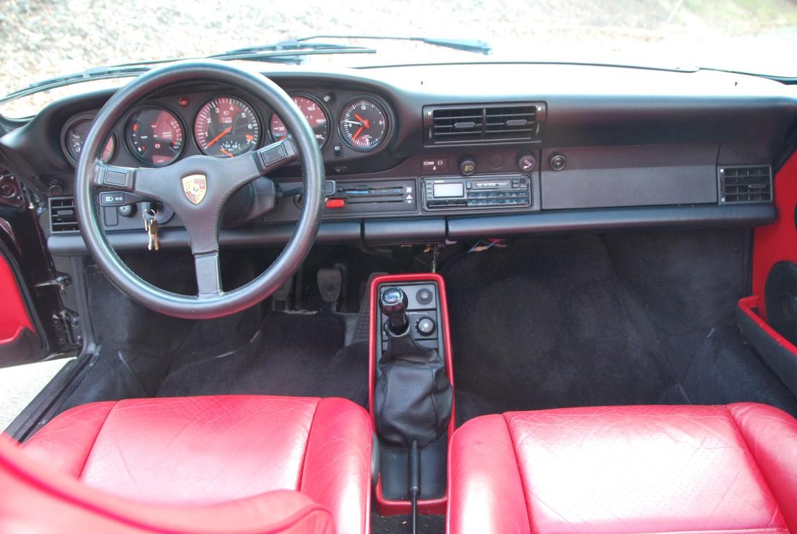 1988 Porsche 930 Turbo Cabriolet For Sale