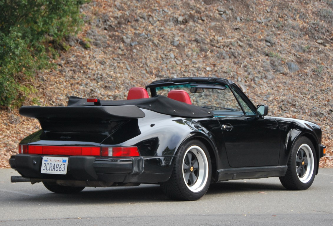 1988 Porsche 930 Turbo Cabriolet For Sale 171 The Motoring