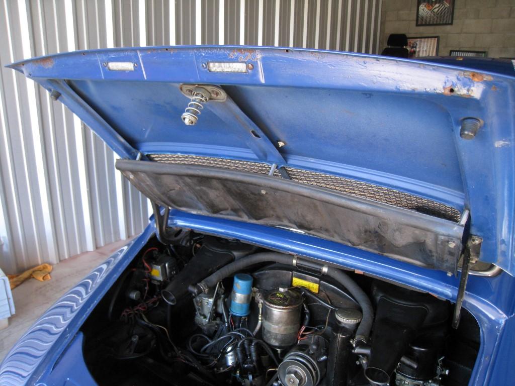 ossi blue 1969 porsche 912 coupe for sale