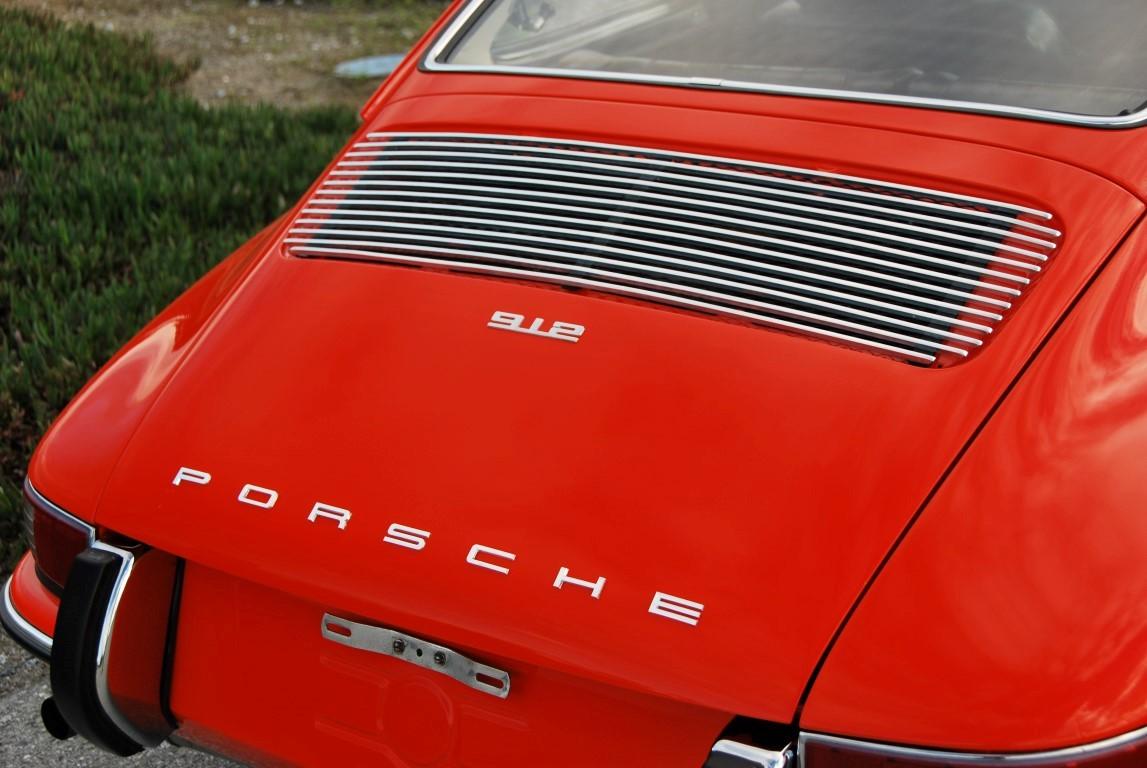 tangerine 1968 porsche 912 coupe for sale