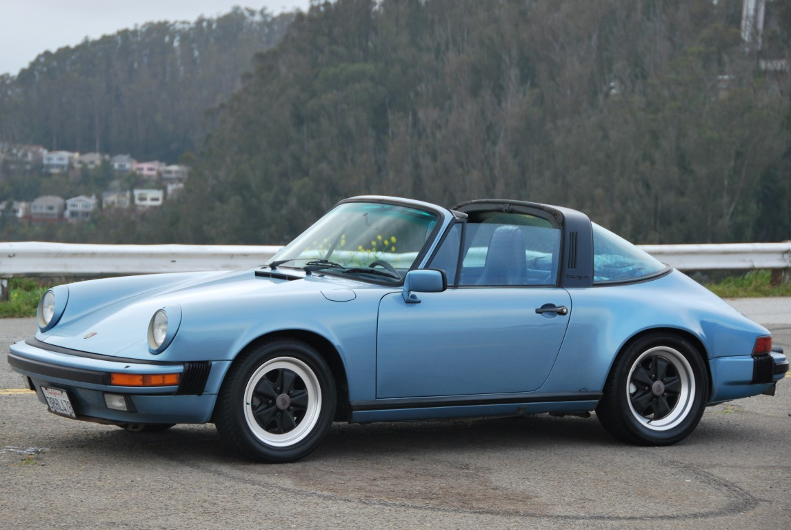 1985 Carrera 3 2 Targa Light Blue Ca Car With Records To