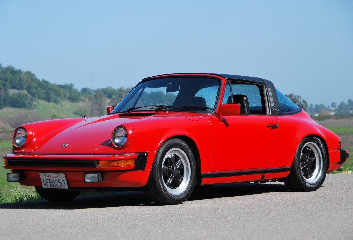 guards red 1982 Porsche 911SC Targa for sale