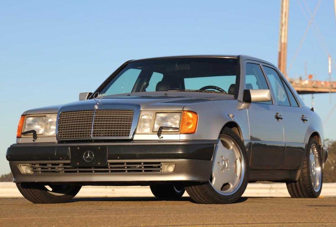 1992 Porsche Type 2758 Mercedes 500e Silver Black