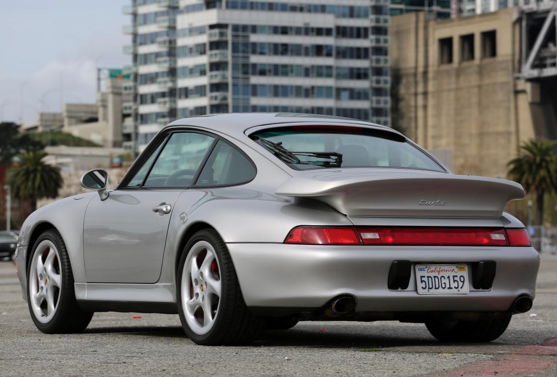 1997 Porsche 993 Twin Turbo Coupe For Sale