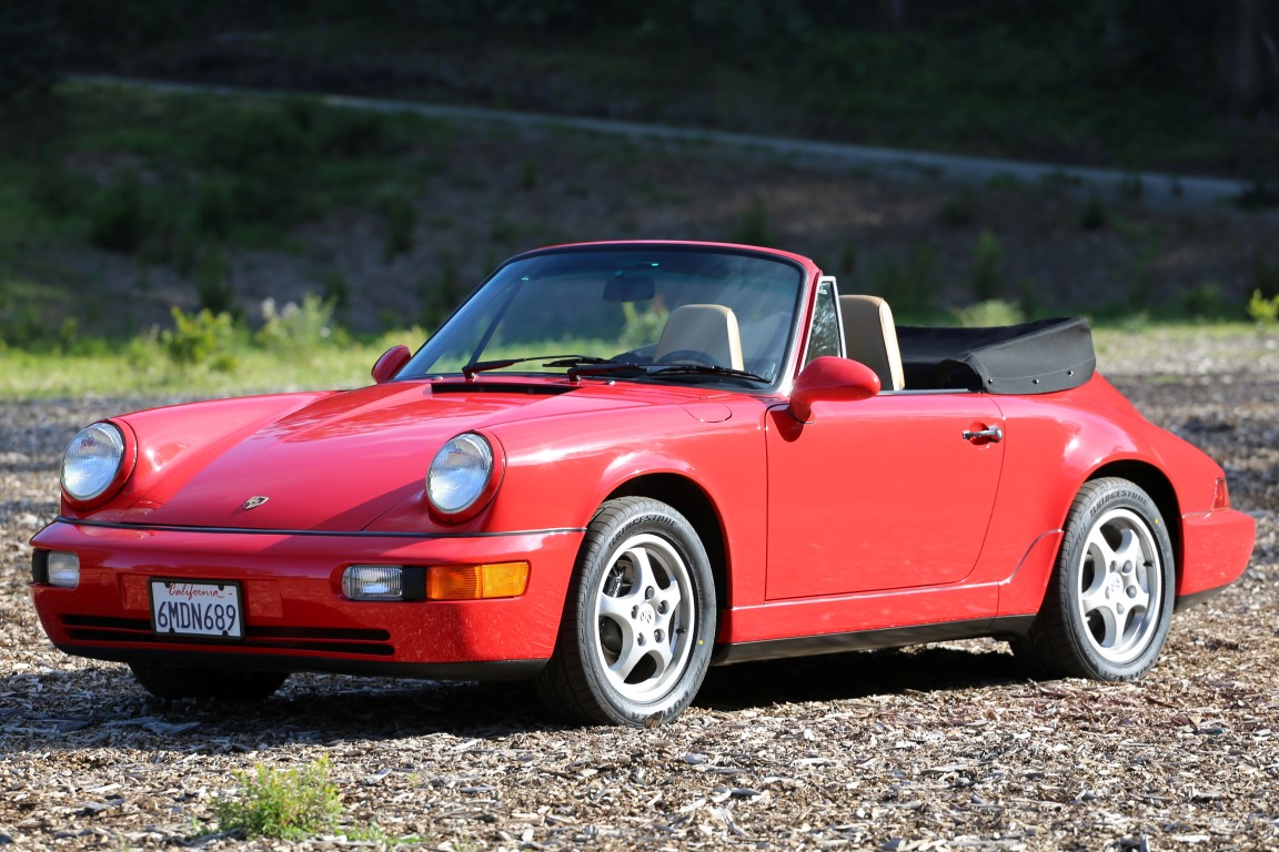 1993 Porsche 964 Carrera 2 Cabriolet for sale