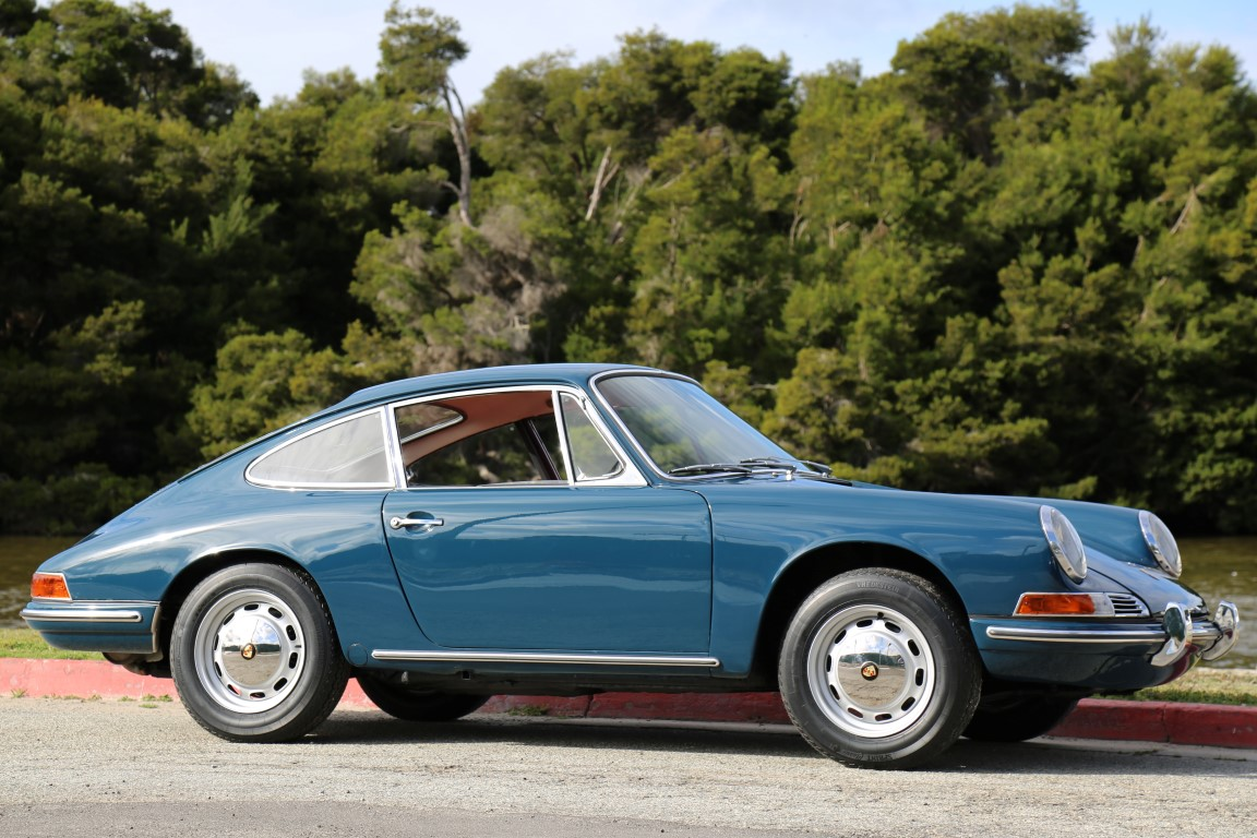 Aga Blue 1966 Porsche 912 for sale « The Motoring Enthusiast